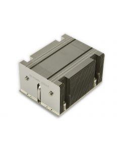 Supermicro 2U Passive Proprietary CPU Heat Sink Socket LGA2011 Square ILM (SNK-P0048PW)