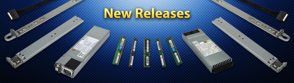 August 2018 New Releases Banner